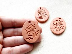 Flower Pendant Aromatherapy Essential by KilnFiredDiffusers