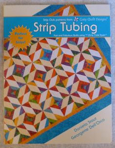 Book Strip Tubing by Cozy Quilt Designs by SuesFabricNSupplies, $18.95