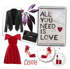 """""""All you need is love"""" by nermina-okanovic ❤ liked on Polyvore featuring Emilio De La Morena, WallPops, Steve Madden, Home Decorators Collection and MICHAEL Michael Kors"""