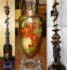 "ROSEVILLE ""ROZANE"" POTTERY FLOOR LAMP Auctions Online 