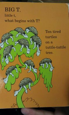 Dr. Seuss liked turtles too ;)