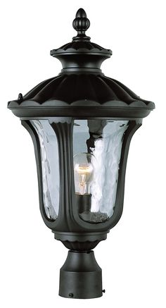 Brinkmann 828 0301 0 led low voltage coach path light black by boston american design in outdoor landscape light fixtures with deep archways filled with watered glass aloadofball Gallery