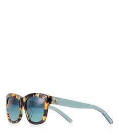 Tory Burch Fret-t Square Sunglasses