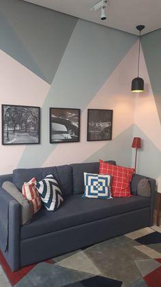 Bedroom Wall Designs, Bedroom Wall Colors, Room Colors, Living Room Designs, Living Room Paint, Living Room Decor, Bedroom Decor, Wall Decor, Interior Walls