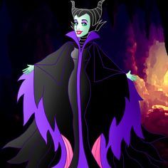 Pretty villains: Maleficent