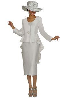 Two Piece Suit with Statments Jewel Bottons by Divine Apparel ®