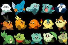 Kirby Pokemon via Reddit user Caitonium