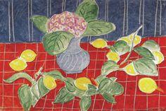 Henri Matisse - Lemons and Saxifrages, 1943 at Sammlung Rosengart Art Museum Lucerne Switzerland