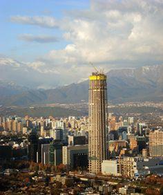 https://flic.kr/p/aaWdPV | Torre Costanera Center. | Santiago de Chile. 2011.