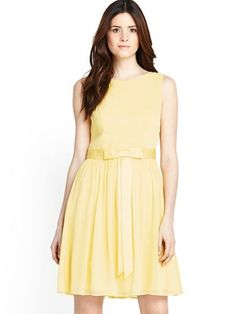 Bow Front Dress, http://www.littlewoods.com/definitions-bow-front-dress/1379131118.prd
