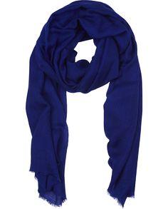 "Naledi Copenhagen ""Devil's Advocate"" scarf - Intense purple-blue"