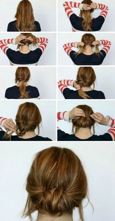 12 Five Minute Gorgeous and Easy Hairstyle