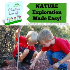 Love this resource: an extensive list of easy open-and-go-exploring ideas for #NatureWalks {COUPON CODE GOOD THRU 6/17}