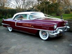 1956 Cadillac Sedan Deville for a wedding car