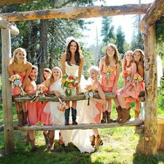 simple country weddings<3