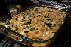 In this JOYFUL life: Chicken, Spinach and Pasta Casserole