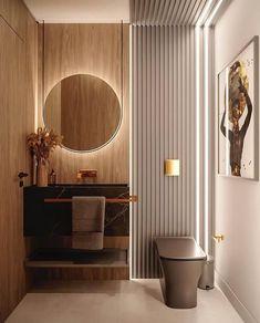 Wc Design, Toilet Design, Design Ideas, Hotel Bathroom Design, Modern Bathroom Design, Luxury Master Bathrooms, Luxury Hotel Bathroom, Hotel Bathrooms, Decoration