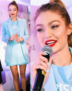 January 26: #Gigihadid at the #GigixMaybelline Launch Party in Tokyo