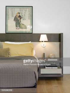 Stock Photo : Detail of modern bedroom, 9 Ridout Rd, Singapore