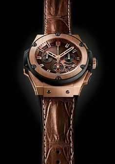 "Hublot King Power ""Arturo Fuente"" Watch. This is the watch you'll be wearing while smoking the exceptionally rare Arturo Fuente Opus X cigars."