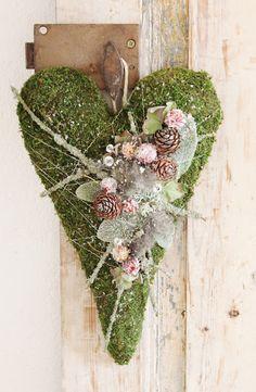 Blomsterverkstad: Vintrigt hjärta