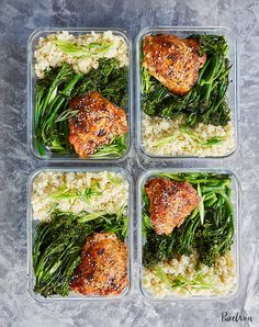 Mahlzeit Prep Honig Sesam Huhn mit Brokkoli – Food recipes – Meal Prep Honey Sesame Chicken with Broccoli – Food recipes – the meal Paleo Meal Prep, Lunch Meal Prep, Meal Prep Bowls, Paleo Diet, Paleo Meals, Meal Prep Dinner Ideas, Burrito Bowl Meal Prep, High Protein Meal Prep, Fitness Meal Prep