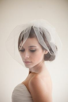 I Do Take Two Smaller, Shorter Veils For Your Second Walk Down the Aisle
