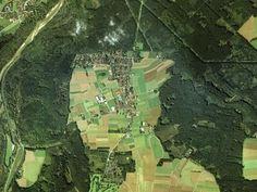 Luftbild Straßlach-Dingharting