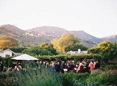 Elegant San Ysidro Ranch Wedding | Unique Colorful Wedding Ideas