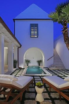 Relaxing, picturesque oasis found in Alys Beach, FL.