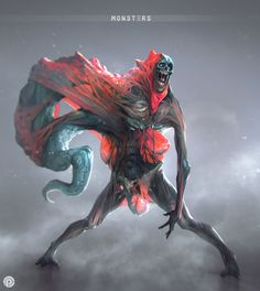 Monsters on Behance