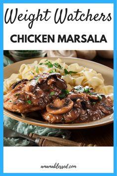 Weight Watchers Chicken Marsala Recipe