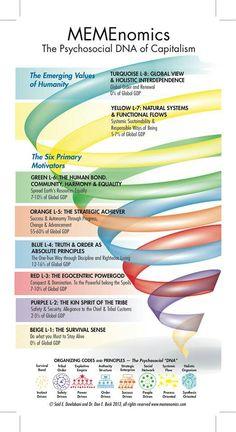 Spiral dynamics on economics.