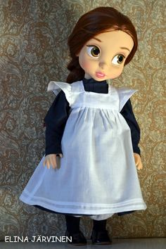 Belle and school dress.