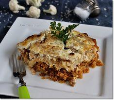 rakott karfiol Hungarian Recipes, Lasagna, Dinner Recipes, Meals, Ethnic Recipes, Desserts, Food, Advent, Fashion