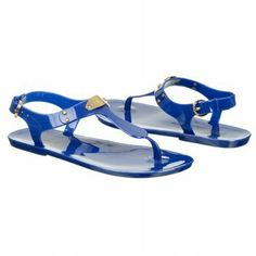 Michael Kors Plate Jelly Sandals | Naughty Gal Shoes