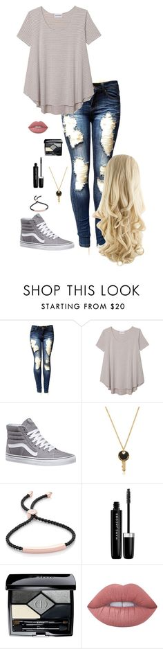 """""""Chill Day 2 (Shawn)"""" by lily-hollibaugh on Polyvore featuring Olive + Oak, Vans, Marc by Marc Jacobs, Monica Vinader, Marc Jacobs, Christian Dior and Lime Crime"""