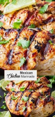 This Mexican chicken marinade is easy to mix up and adds so much flavour to your chicken. Marinate and then grill or bake, or freeze for later! Mexican Grilled Chicken, Mexican Chicken Recipes, Mexican Chicken Seasoning, Clean Eating, Healthy Eating, Chicken Marinade Recipes, Marinades For Chicken, Marinade Sauce, Appetizers