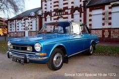 Simca 1301 Luxe Super