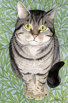 Tabby - I love the catitude of this drawing