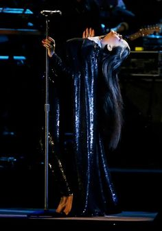 Rihanna in TOM FORD Spring 2015 performing at Concert for Valor during Veterans Day in Washington DC.2