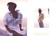 Josie Borain for Calvin Klein 1985