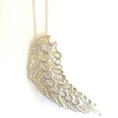 Crazy gorgeous and creative lace jewelry. NC made.