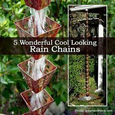 Rain chains for Pam