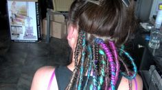 Professional Synthetic Dreadlock Install HD - Rivet Licker, Blanket stitch style braid looks tidier and lasts longer.