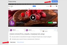 Utwórz stronę w Google+