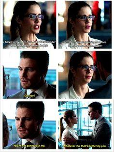 Arrow - Oliver & Felicity #2.13 #Season2 #Olicity
