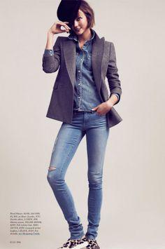 Karlie Kloss en Elle US por Bruno Staub