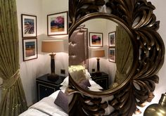 Luxury Bedroom details in Abbey Lodge building - London | SISSY FEIDA INTERIORS