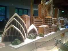 Make your city in gingerbread. | #lifelist